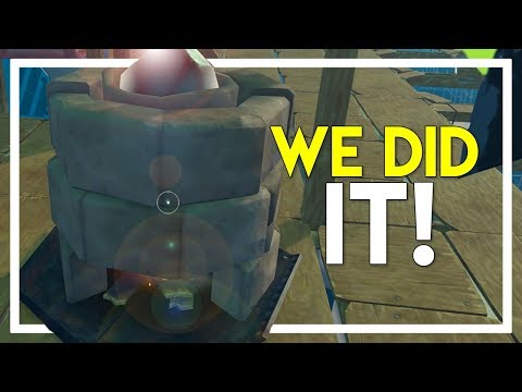 Raft Survival Game - Part 8: WE FINALLY DID IT!