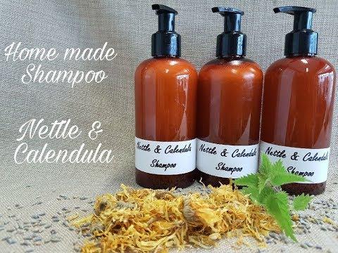HOMEMADE SHAMPOO - Nettle & Calendula