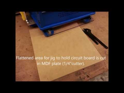 Handibot: Making Jig for Cutting Small Circuit Boards
