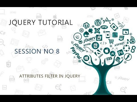 JQUERY TUTORIAL FOR BEGINNERS   8   ATTRIBUTES FILTER IN JQUERY