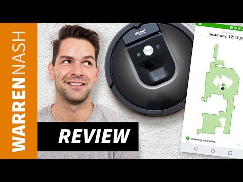 iRobot Roomba 980 Review - Unboxing, Cleaning, Maps & Features