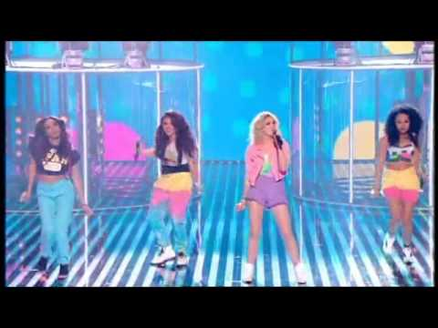 LITTLE MIX SING WINGS ON RED OR BLACK