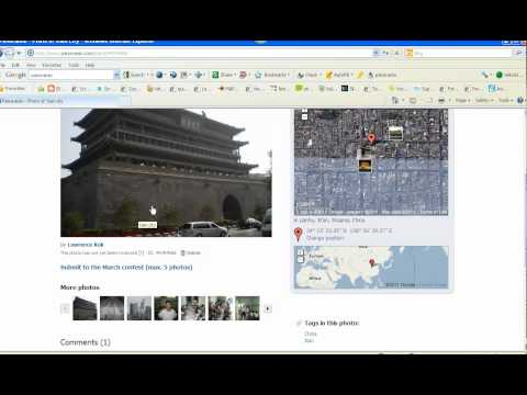 Tutorial on geotagging and mapping in Google Earth