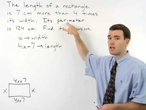 Perimeter Word Problems | MathHelp.com