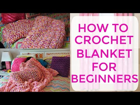 Crochet Blanket for Beginners