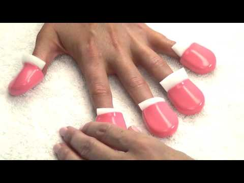 Star Pro Soak Off Gel Color Removal System Foam and Cap How-To Video