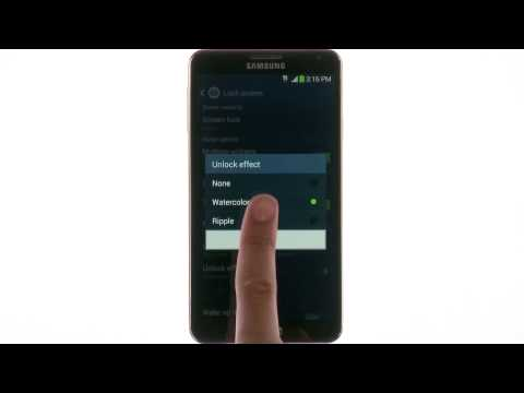 Samsung Galaxy Note® 3 - Lock Screen Tips & Tricks