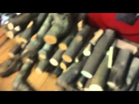 Handmade wooden pipe