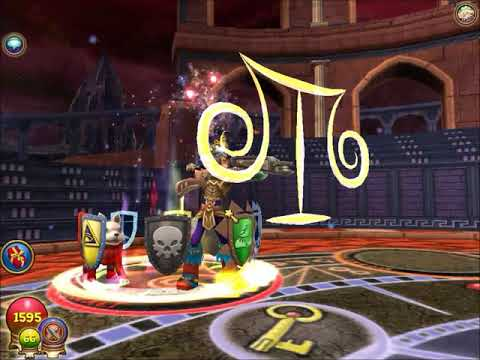 W101 Wizard101 Magus Master Balance vs Adept Storm Magus Life Commentary arena PvP
