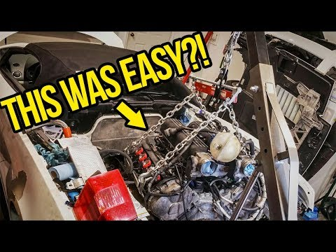 Taking Out My Cheap Lamborghini's Engine Was WAY Easier Than I Thought