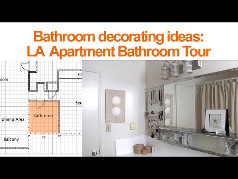Bathroom Decorating Ideas:  LA Bathroom Tour