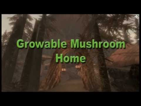 TESV: Growable Mushroom Home