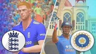 DON BRADMAN CRICKET 17 - ENGLAND TOUR OF INDIA 2017 - 1ST ODI