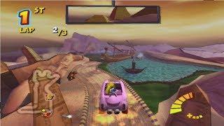 Crash Tag Team Racing PS2 Tomb Town Grand Prix Tournement