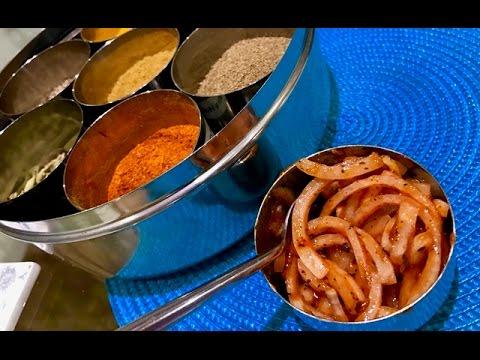 Red Onion Chutney for Poppadoms - Al's Kitchen