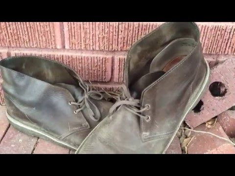 Clarks Desert Boot Leather Review - 5 years review