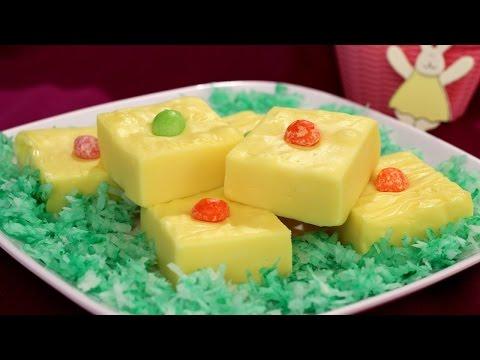 Easter Lemon Fudge Recipe - Amy Lynn's Kitchen