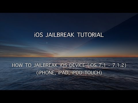 iOS Jailbreak Tutorials - How to Jailbreak Your iPhone, iPad, iPod Touch on iOS 7.1-7.1.2