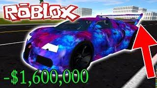 MY BUGATTI IS TOO FAST! (Roblox Vehicle Simulator) #4