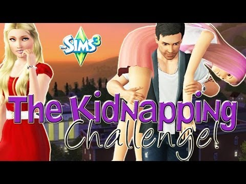 Let's Play The Sims 3 Kidnapping Challenge! Pt 1 - Our First Victim!