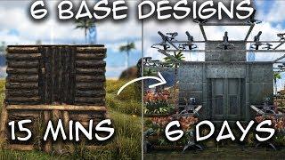 🦄 Jungle Hut HOW TO BUILD Ragnarok PVE   Ark Survival [NO