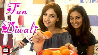 #Diwalispecial : Mohan sisters celebrate Diwali with Tellychakkar.com |Exclusive |Interview|