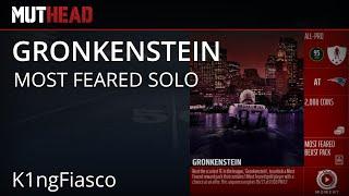 Mut 16 Gronkenstein Limited Most Feared Solo 7 9 Gronkowski