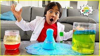 StayHome Learn Easy DIY Science Experiments for Kids #WithMe Join Ryan's World to learn and do easy home science experiments! There's lots of activities to ...