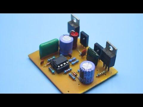 50W  Amplifier on transistors