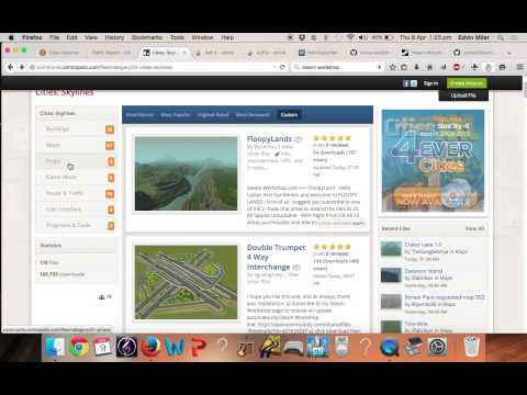 How to Download Cities Skylines Mods on MAC