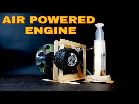 how to make air powered engine