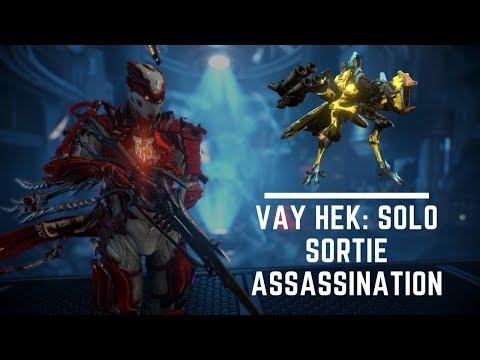 Solo Sortie Assassination: Councilor Vay Hek [Condition: Dense Fog]