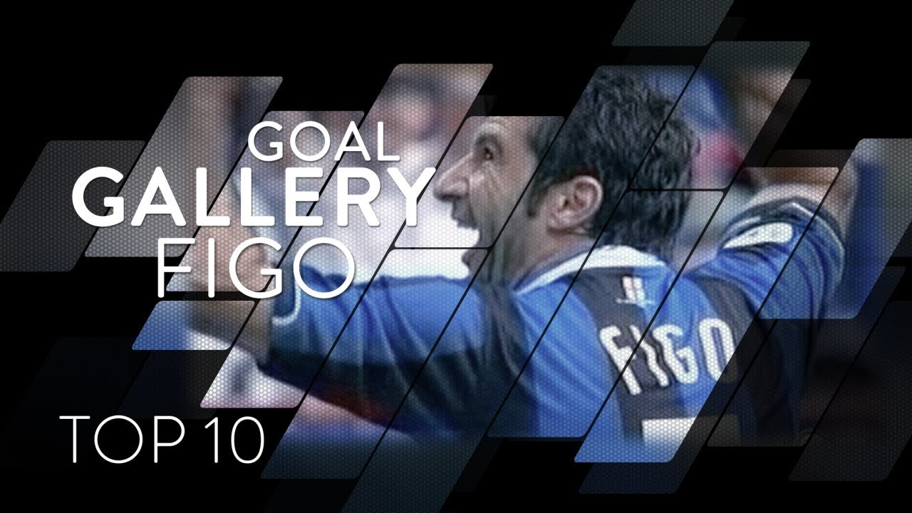 LUIS FIGO   INTER TOP 10 GOALS   Goal Gallery 🇵🇹🖤💙