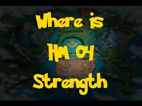 Where Is: HM 04 - Strength (Pokemon Black 2/White 2)