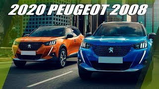All-New 2020 PEUGEOT 2008 and e-2008 SUV Overview