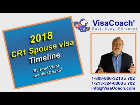 2018 CR1 Spouse Visa Timeline