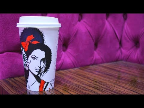 Artist Uses Paper Coffee Cups To Reflect What He Sees