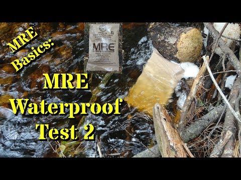MRE Basics: MRE Waterproof Test 2