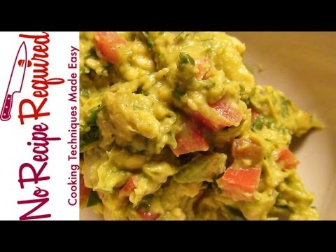 How to Keep Guacamole Green - NoRecipeRequired.com
