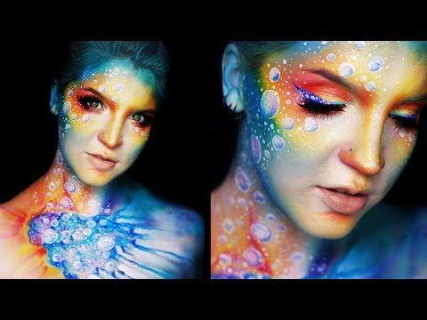 INTERGALACTIC | Colorful Makeup Tutorial