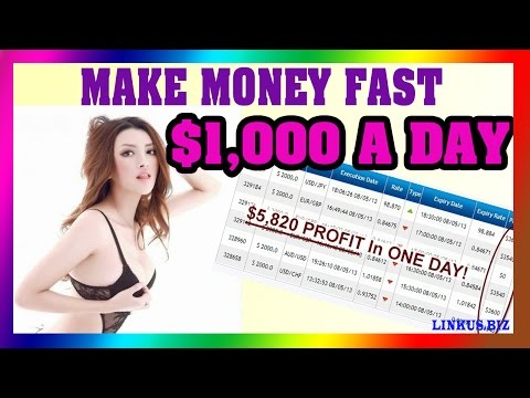 How To Make Money Online Fast - Earn Money Frome Home Easy $1,000 Per Day
