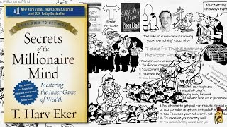 SECRETS OF THE MILLIONAIRE MIND BY T. HARV EKER | ANIMATED BOOK SUMMARY