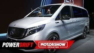 Mercedes-Benz EQV 300 : Shared luxury :  IAA 2019 : PowerDrift
