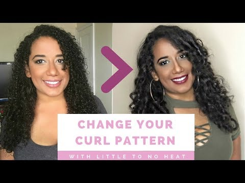 How I changed my curl pattern | Chicks with Curls