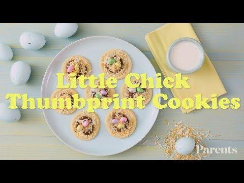 Little Chick Thumbprint Cookies | Parents