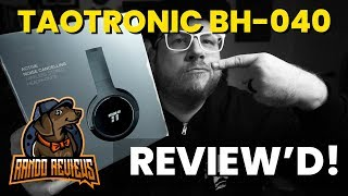 118bd30d7f5 Best $50 Bluetooth Over-the-Ear Headphones? TaoTronics BH-040 Noise  Canceling