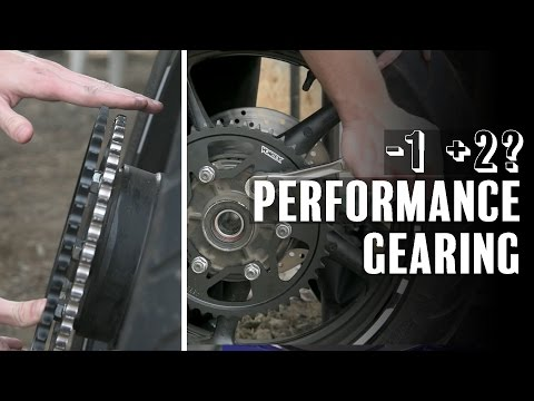 Gearing Your Bike for Power & Performance - How to Change Sprocket | Yamaha FZ6 S2
