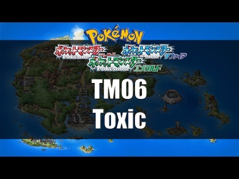 Pokemon Ruby/Sapphire/Emerald - Where to find TM06 Toxic