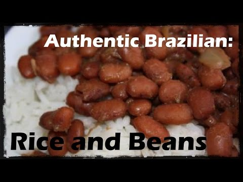 Authentic Brazilian: Rice and Beans