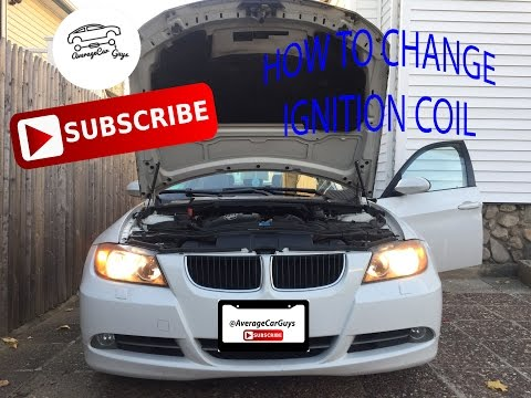 How to Replace Ignition Coil in 2008 BMW 328 Xi